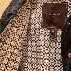 Coach Jackets & Coats - Coach quilted jacket